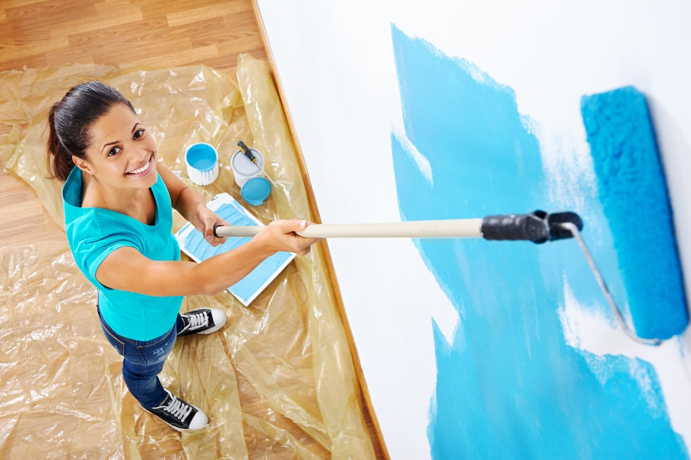 freshen up your business spring cleaning business paint walls new color